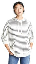 Z Supply The Stripe Dakota Pullover Hoodie