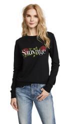 Chrldr Sauvage Roses Sweatshirt