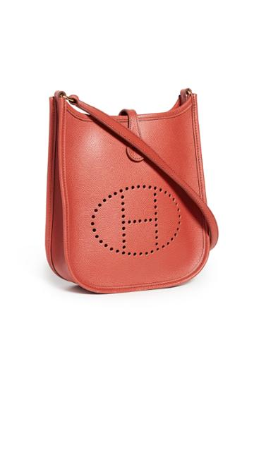 What Goes Around Comes Around Hermes Red Epson Evelyne I Tpm Bag