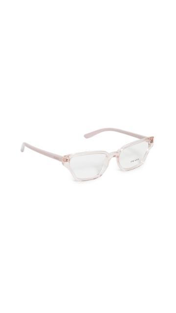 Prada Narrow Cat Eye Glasses