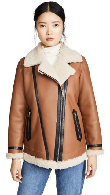 Veda Mesquite Shearling Jacket