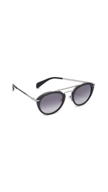 Rag Bone Round Sunglasses