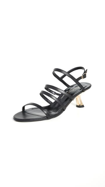 Simon Miller Strappy Low Tee Heel
