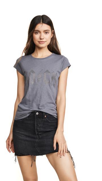 Zadig Voltaire Studded Short Sleeve T Shirt