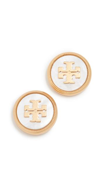 Tory Burch Small Embellished Dragonfly Earrings