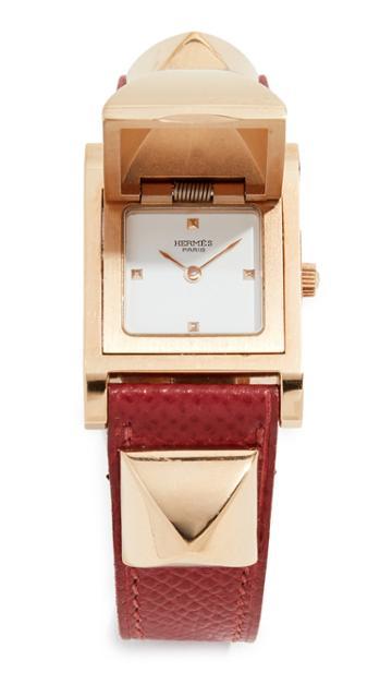 What Goes Around Comes Around Hermes Courchevel Medor Watch 23mm