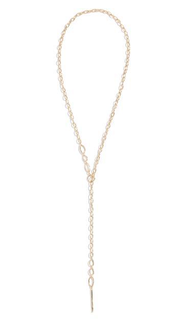Gorjana Rowan Threading Lariat Necklace
