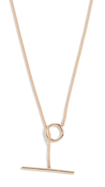 Ariel Gordon Jewelry 14k Toggle Wrap Chain Necklace