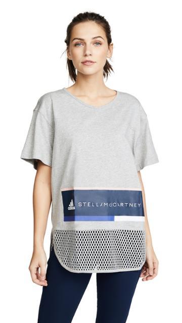 Adidas By Stella Mccartney Essential Logo Tee