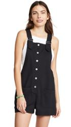 Z Supply Button Front Overalls