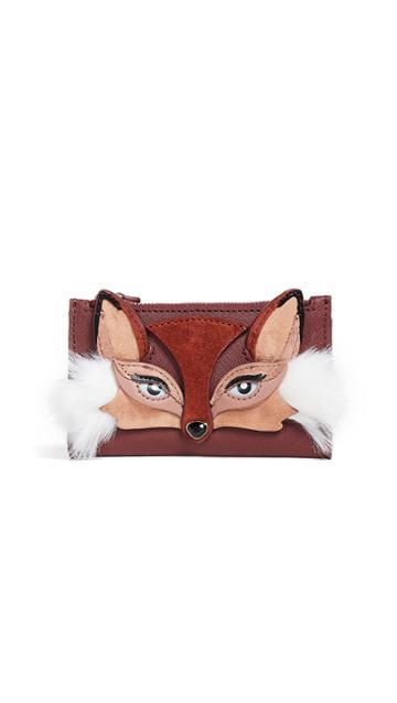 Kate Spade New York So Fozy Fox Mikey Wallet