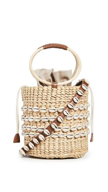 Poolside Bags Shell Mania Bobbi Bucket Bag