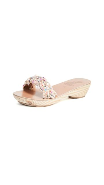 Ancient Greek Sandals Garitsa Clog Slides