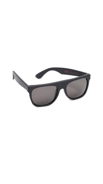 Super Sunglasses Flat Top Sunglasses