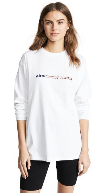 Alexander Wang T Shirt With Logo Decal