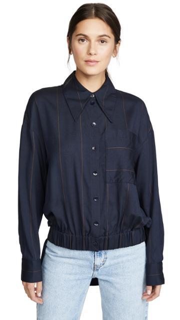 Tibi Double Layer Shirt