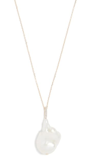 Mateo 14k Baroque Pearl Necklace