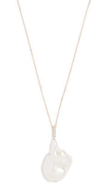 Mateo 14k Baroque Pearl Necklace