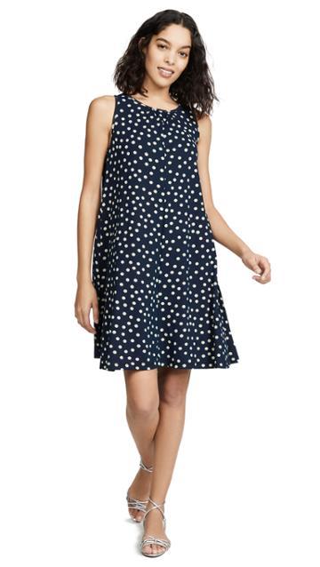Three Dots Spring Dot Dress