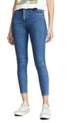 Levi S Mile High Ankle Zip Jeans