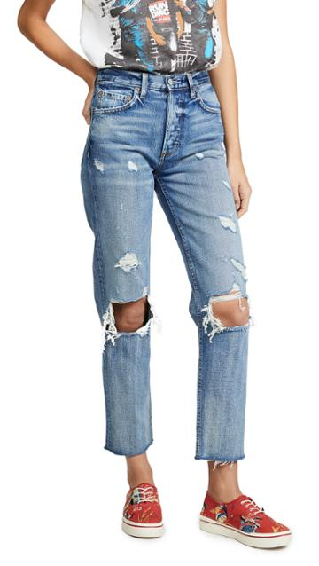Boyish Tommy High Rise Straight Jeans