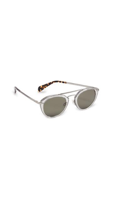 Rag Bone Aviator Sunglasses