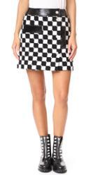 Courreges Check Miniskirt