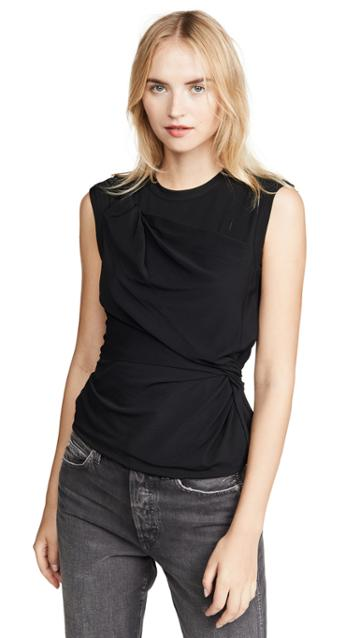 Alexanderwang T Twisted Crepe Jersey Top
