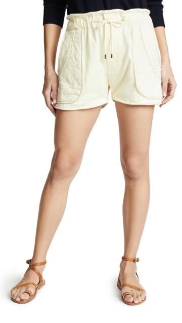 Sea O Keefe Quilted Shorts