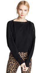 Alexanderwang T Snap Detail Sweater