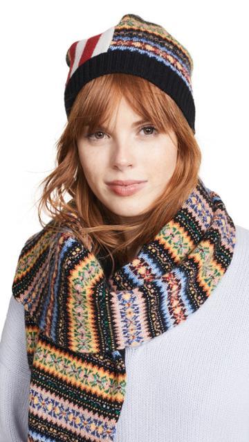 No 21 Striped Pattern Hat