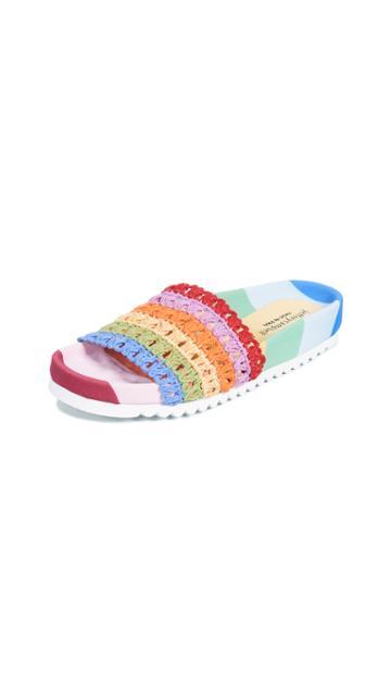 Jeffrey Campbell Coco Rainbow Slides