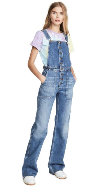 Citizens Of Humanity Faye Button Front Overalls