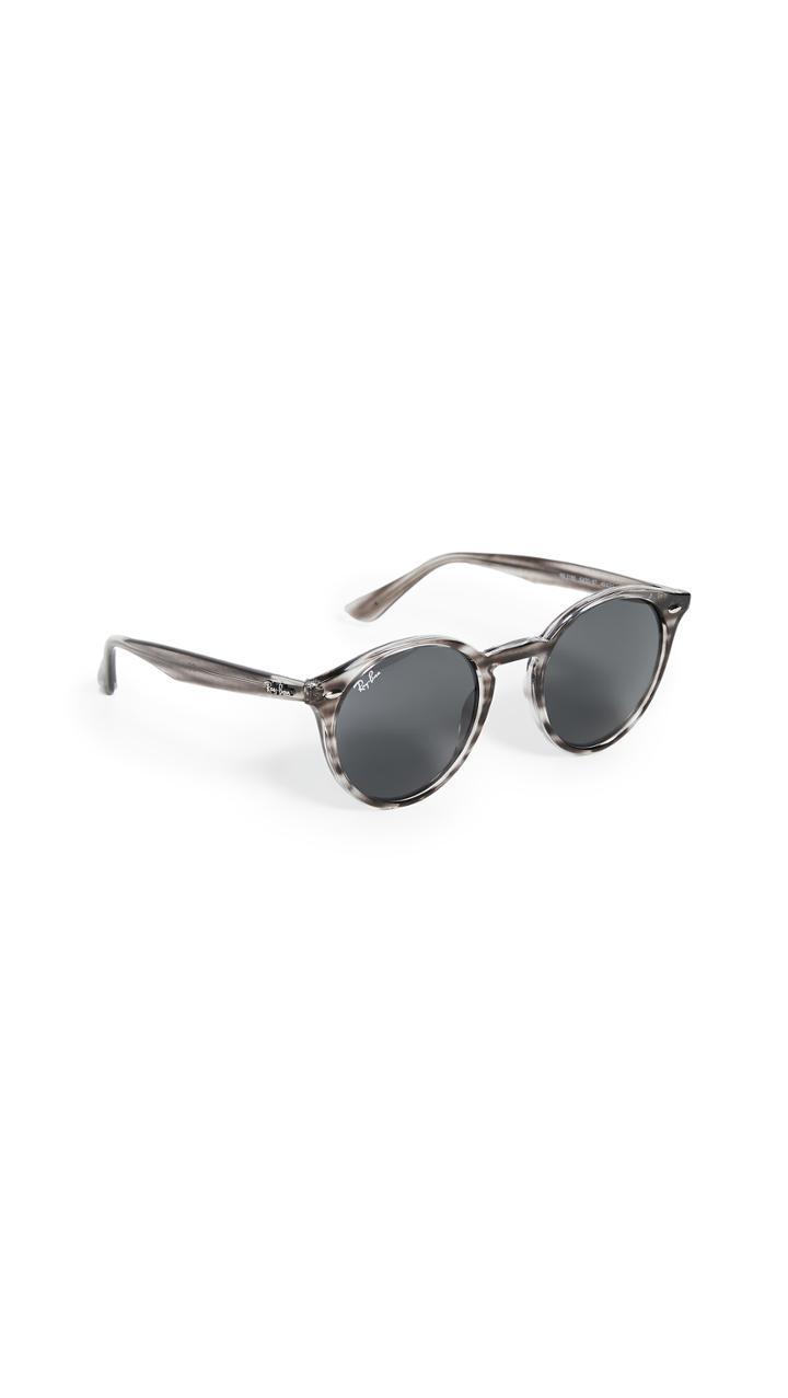 Ray Ban Highstreet Round Phantos Sunglasses