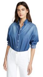 Prps Washed Denim Button Up Shirt