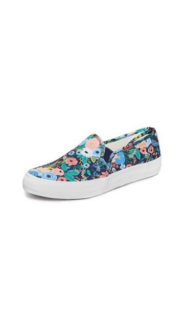 Keds X Rifle Paper Co Double Decker Garden Party Sneakers