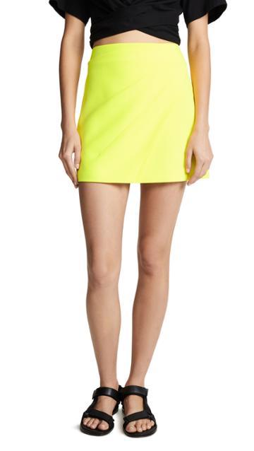 Alice Olivia Shaylee Miniskirt