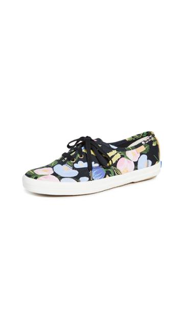 Keds X Rifle Paper Co Champion Floral Sneakers