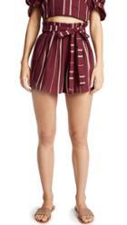 Moon River Paperbag Waist Shorts