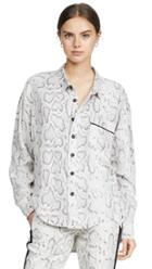 Pam Gela Snake Print Shirt