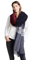 Rag Bone Mixed Check Scarf