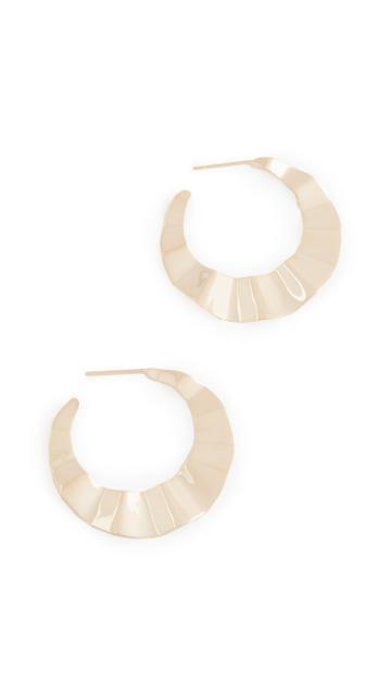 Lana Jewelry Crinkle Hoops