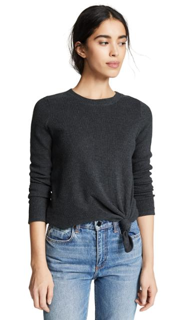 Madewell Elwood Knot Front Top