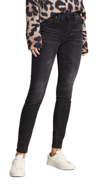 Blank Denim The Bond Mid Rise Skinny Jeans