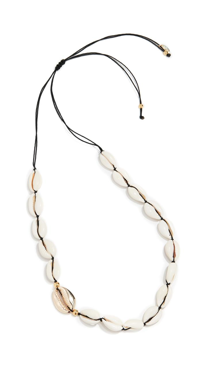 Maison Irem Sanibel Shell Necklace