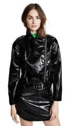 Bb Dakota It S Electric Vinyl Moto Jacket