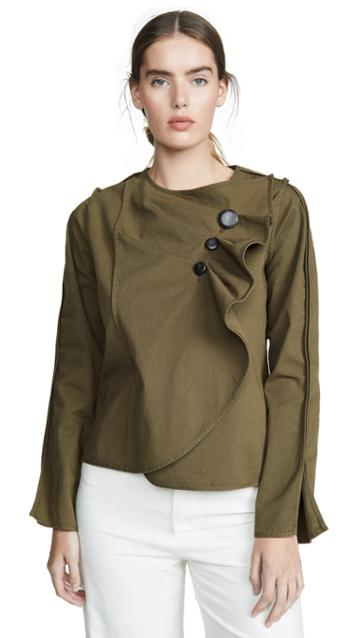Sea Scout Long Sleeve Wrapped Top