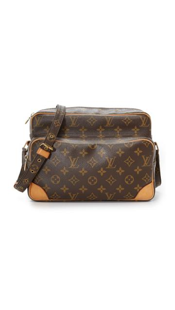 What Goes Around Comes Around Louis Vuitton Monogram Nile Bag Previously Owned