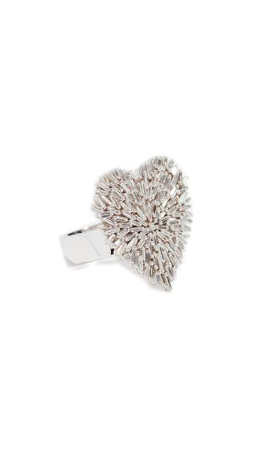 Suzanne Kalan 18k Heart Ring