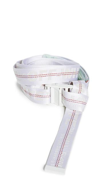 Off White Classic Industrial Belt